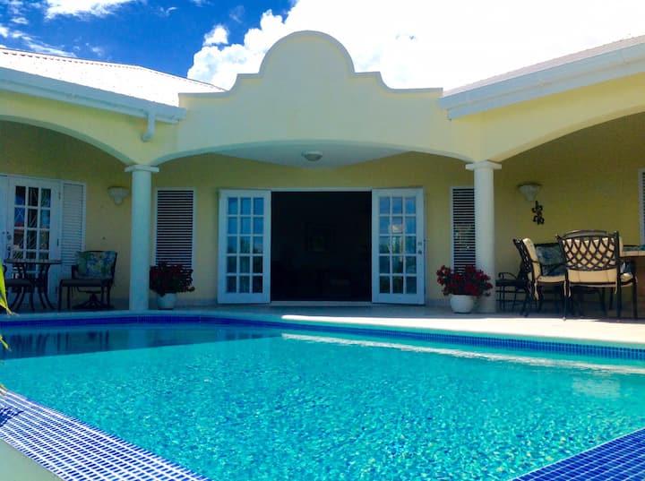 villa infinity pool sea views quarantine ready