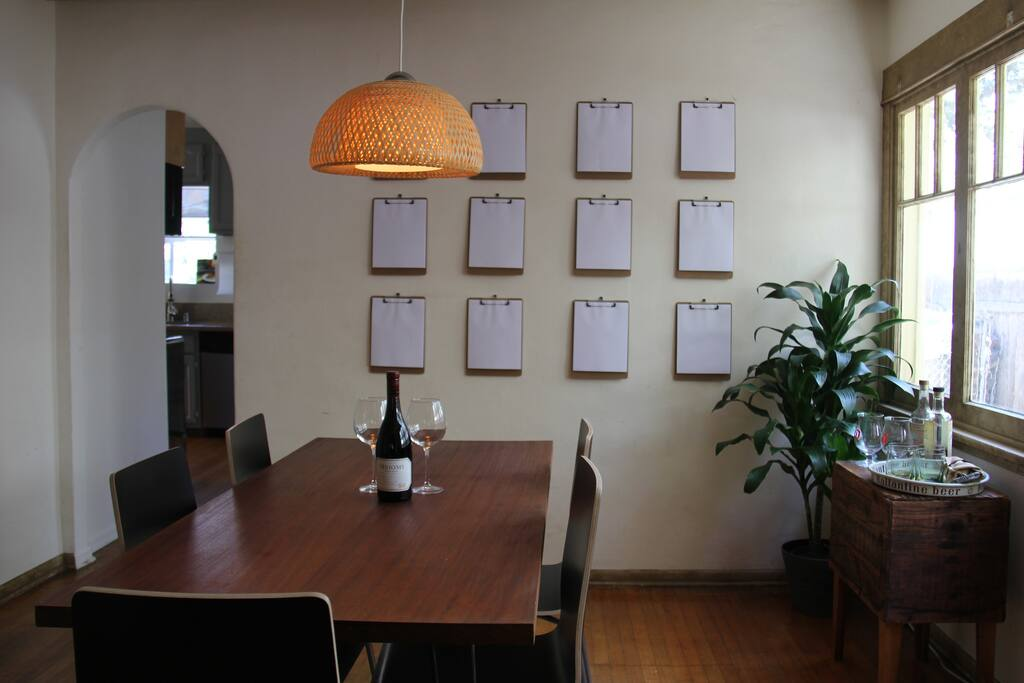 Dining Room & Dry Bar