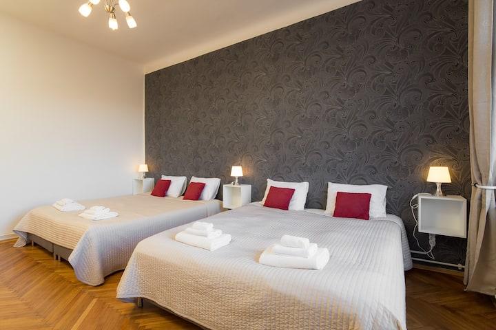Oldtown Prague 1-Bedroom Apart - Vincanto 4 people