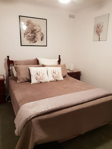 Recently renovated guestroom