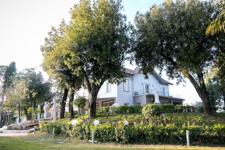 Camera Deluxe vista Bosco in provincia di Caserta