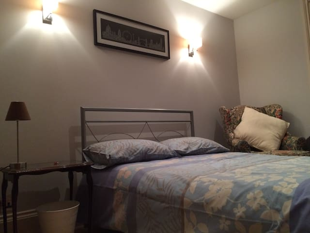 Great value room with double bed- Fulham SandsEnd - Londen - Huis