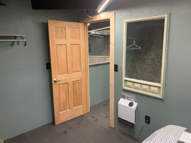 Private bedroom.