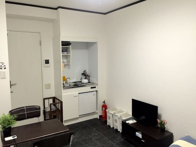 New Apt. 3-8 mins walk to JR and 3 Metro Stations - Chūō-ku - Apartment