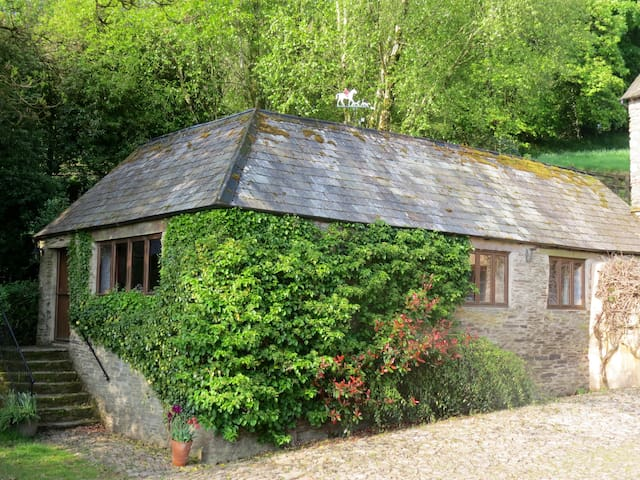 The Shippon Cottage at Cutthorne - Luckwell Bridge - Casa