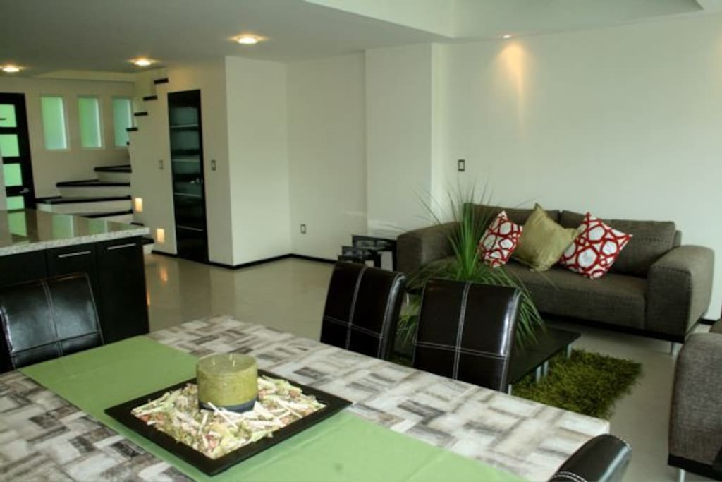 Lower level - dining and living rooms
