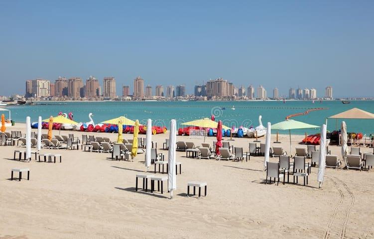 Enjoy The Beach in JBR, Private bathroom & Balcony