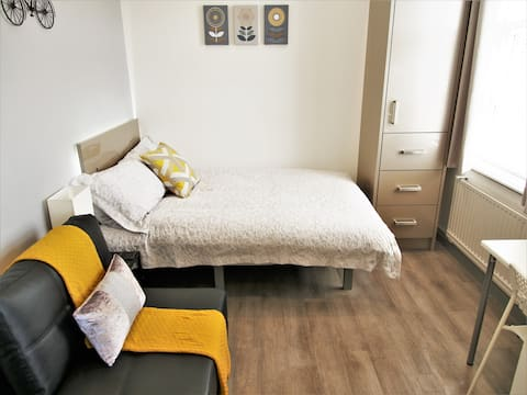 Beautiful modern Studio Apartment! Parking & Wifi