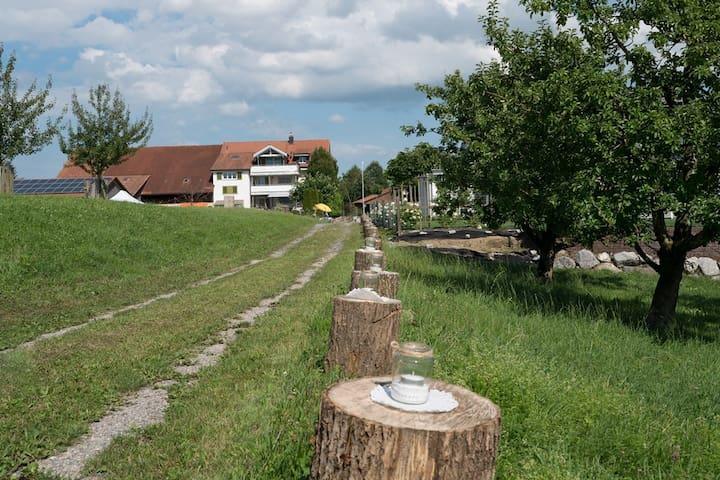 Gästezimmer auf dem Bauernhof
