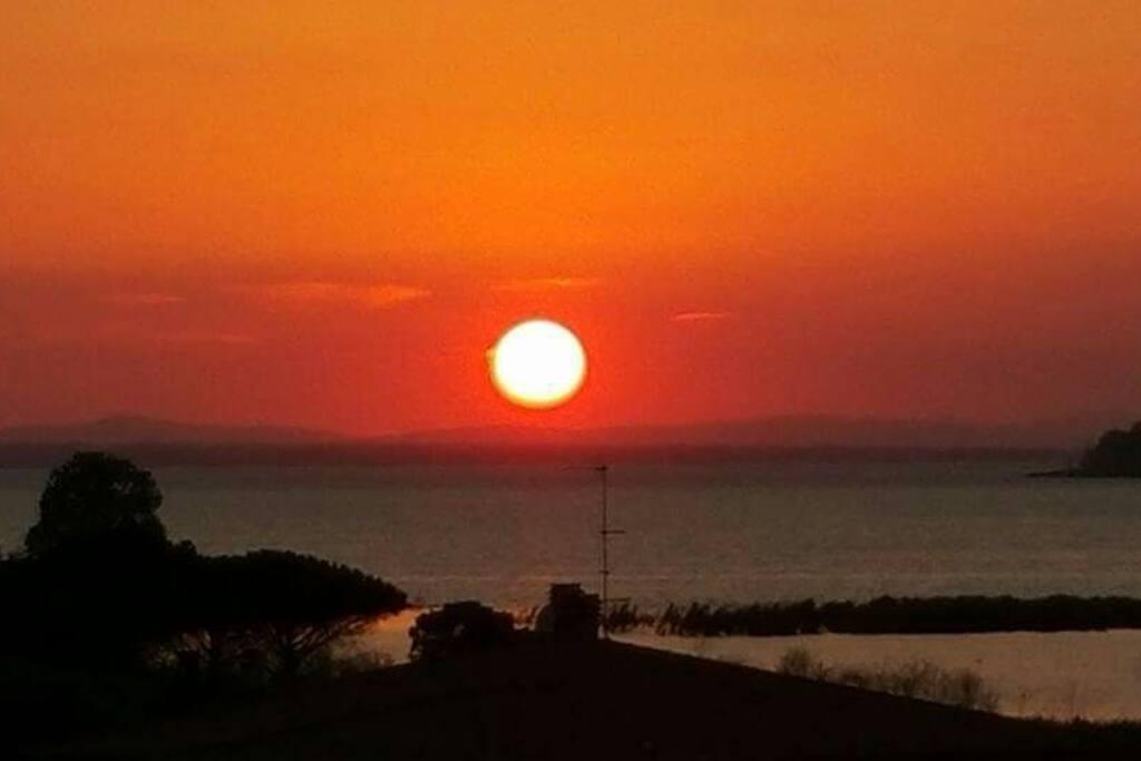 Il tramonto di luglio