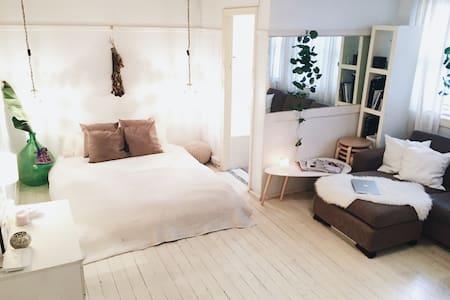Cozy, White & Spacious Studio - Elizabeth Bay - Apartment