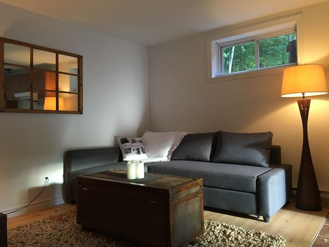 Cozy appartement on Bromont mountain -full equiped - Bromont - Lägenhet