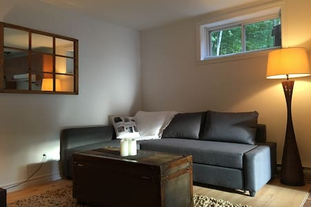 Cozy appartement on Bromont mountain -full equiped - Bromont - Byt