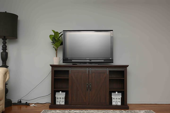 Amazon Fire stick set up to TV in Living Room