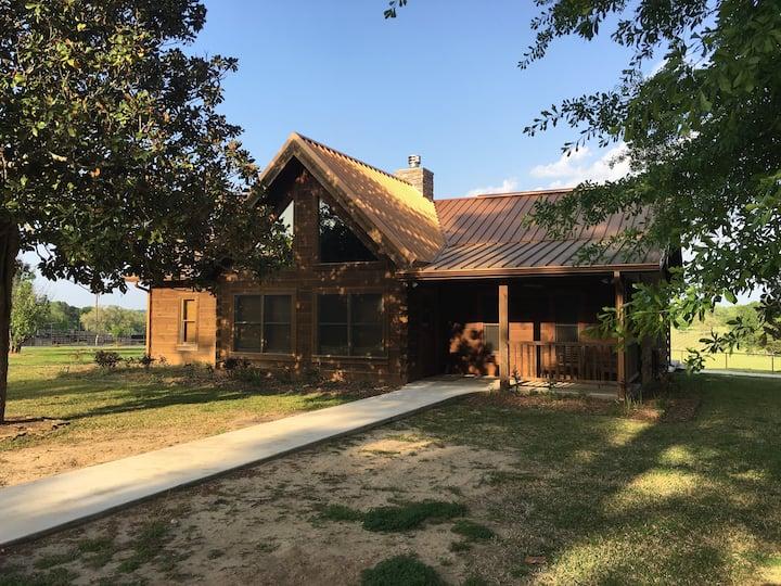 West Sandy Creek Guest House Log Cabin
