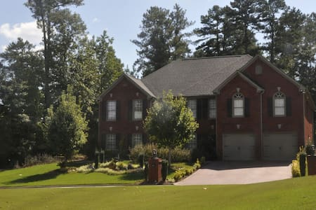 GOLF COURSE LUXURY PRIVATE HAVEN #1 **Sleeps 36** - 石头山(Stone Mountain)