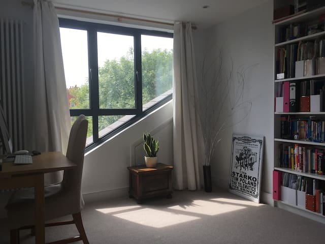 Bright and spacious double bedroom in new loft.