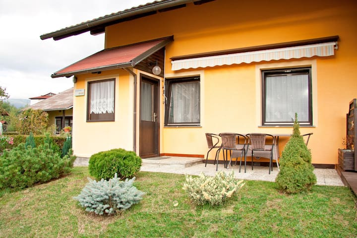 Cosy apartment with a terrace close to spa Zreče