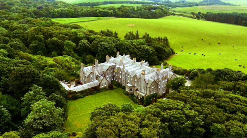 Dunskey Estate: Castle on 2000-acre on the Sea - Portpatrick - 단독주택