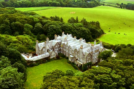 Dunskey Estate: Castle on 2000-acre on the Sea - House