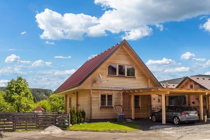 Gemütliches Ferienhaus in Finkenstein am See