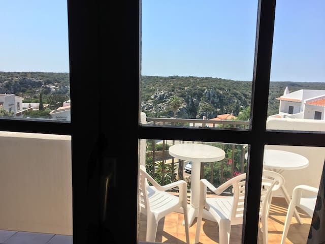 3 beds apartment with panoramic view in Menorca