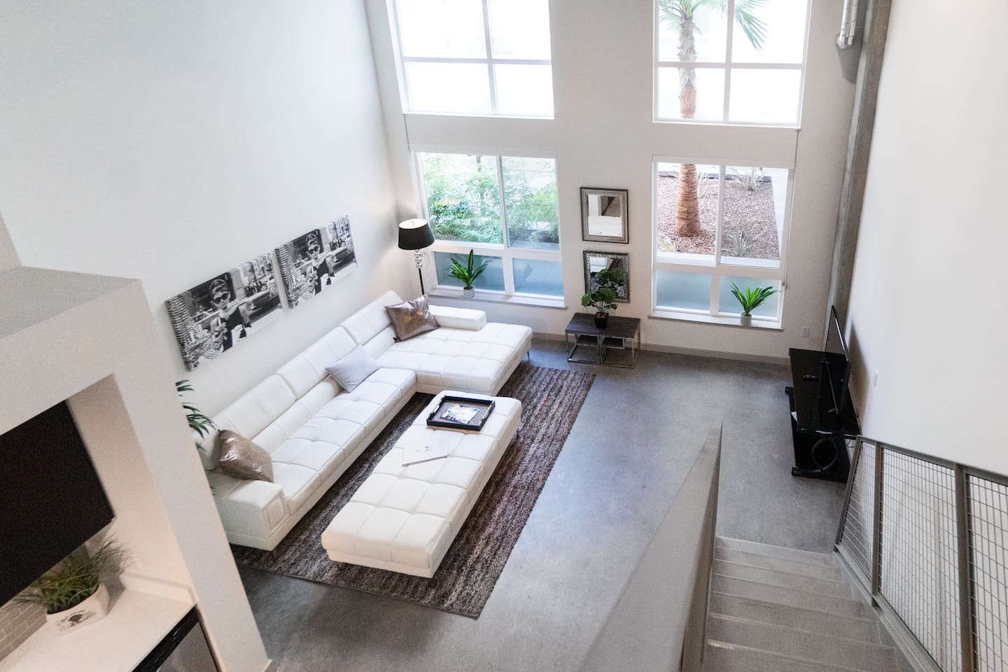 downtown luxe 2 story loft lofts for rent in los angeles
