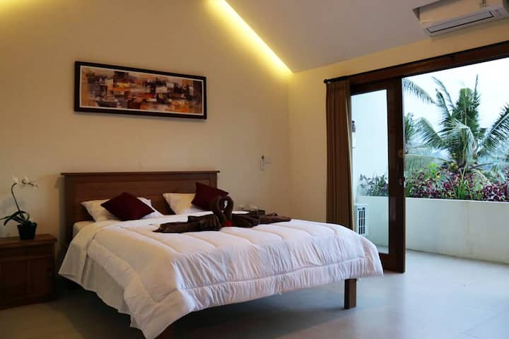 Ubud Rooms, Jungle View & Affordable / 2nd Floor A