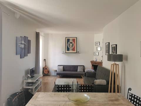 Lovely 2 bedroom  apartment 20 min from Monaco