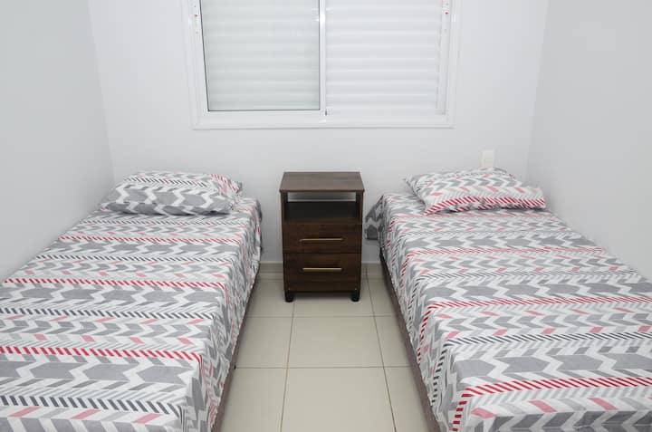 Apartamento funcional e confortável ;)