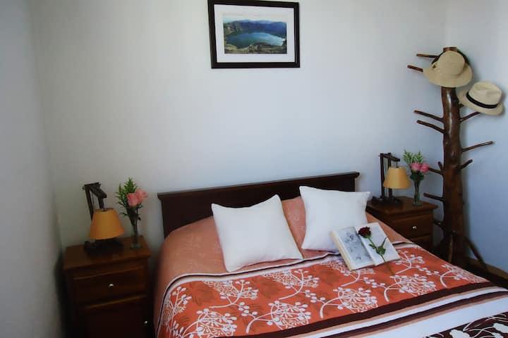 Quito:Chambre confortable, inclus petit déjeuner