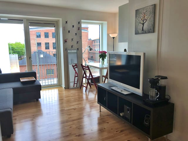 New, cute and modern studio in Valby
