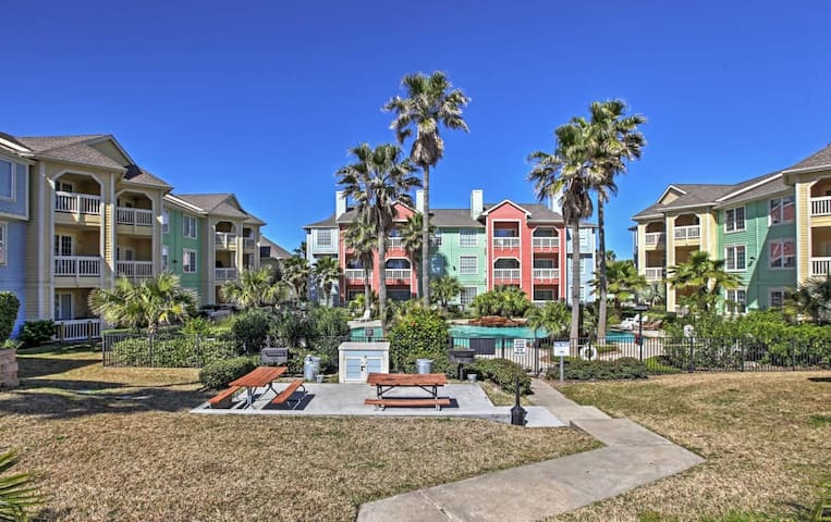 Alluring 2BR Galveston Condo w/Community Pool - Galveston - Kondominium