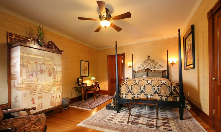 Miss Yunji Room - The Historic Webster House