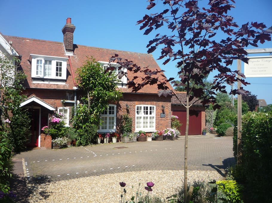Magnolia Cottage, Sheringham. Ample off road parking on our drive.