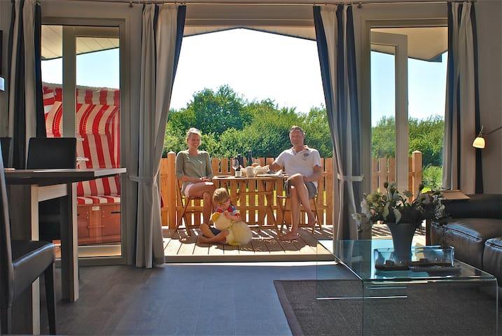 Bungalow für 5 Gäste mit 40m² in Neukirchen (77975)