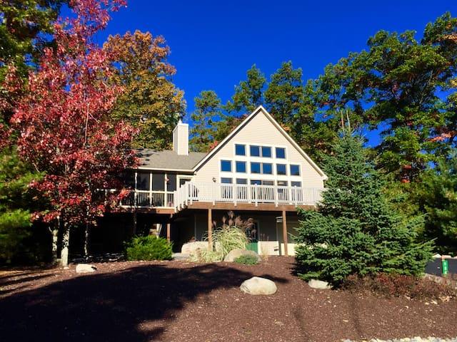 Incredible View & Ski Home in Northridge Community - Tannersville - Casa