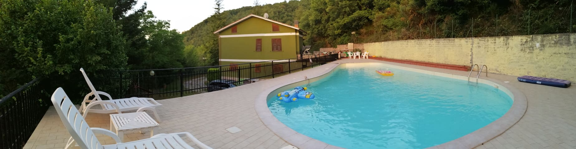 Villa con piscina a uso esclusivo
