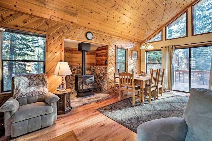 Pet-Friendly Cabin by Tahoe & Truckee Attractions!