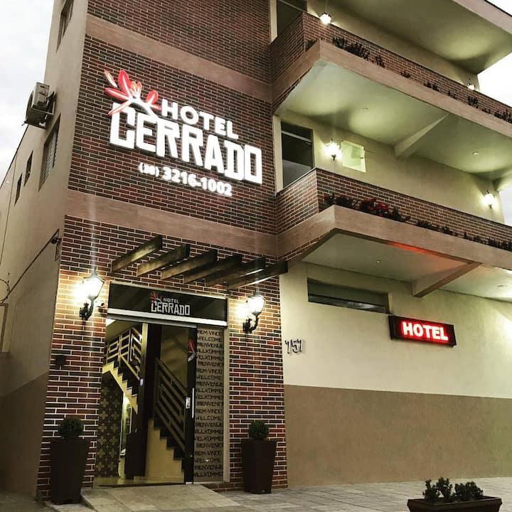 HOTEL CERRADO - SURPREENDA COM NOSSO ACONCHEGO!!!