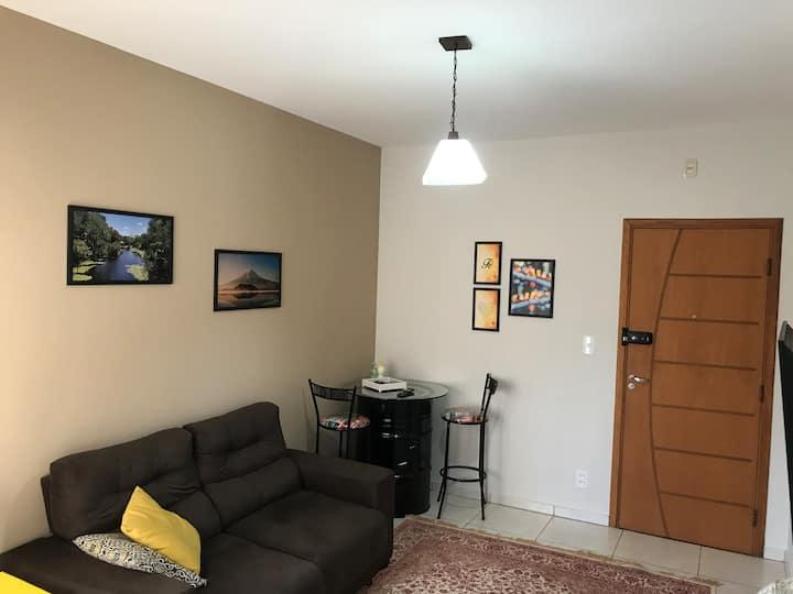 Apartamento confortável e aconchegante