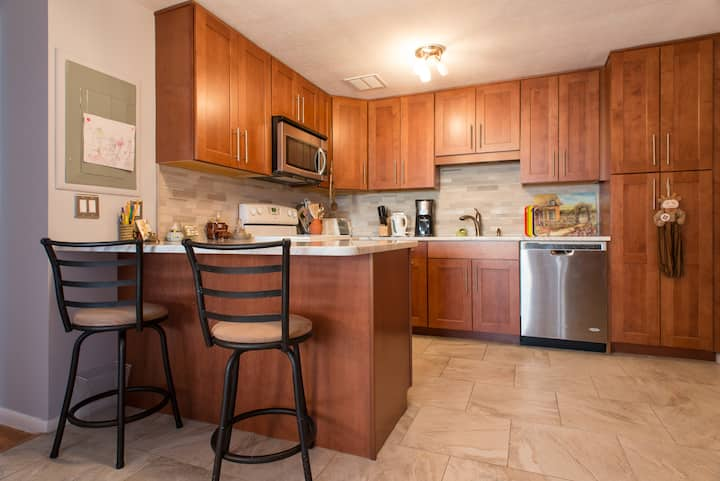 Longwood Medical 2br Brookline Condo with Parking!