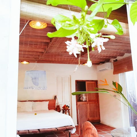 Bamboo room/Mercy homestay/Free Cooking Class