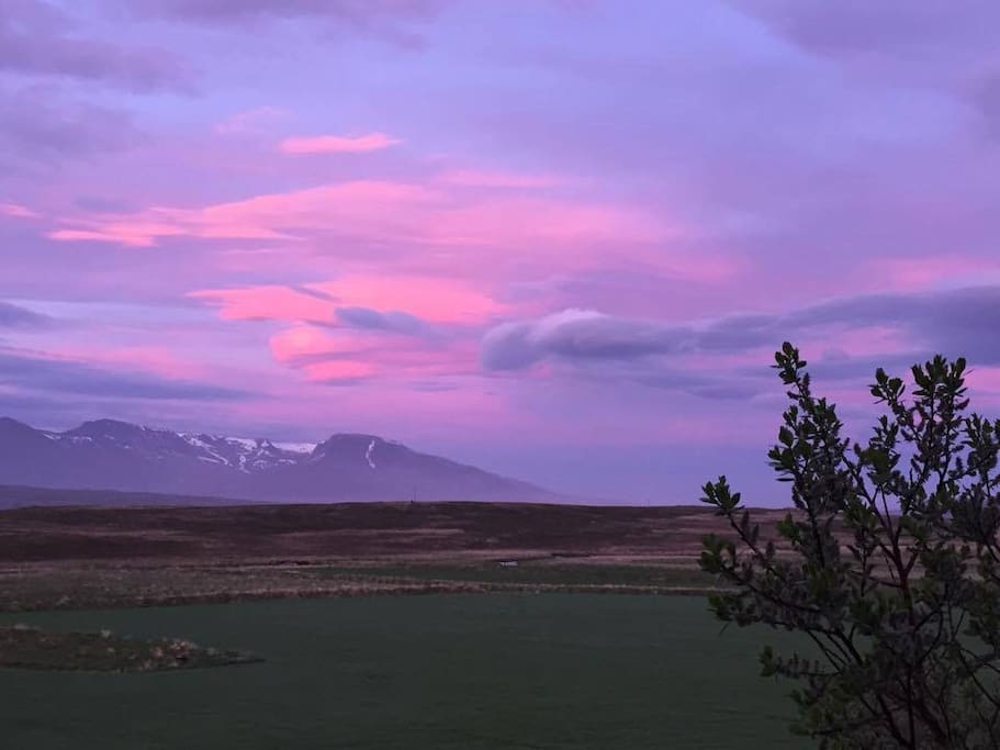 Icelandic summer colours- no filter- midnight sun in June