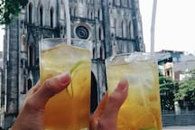 Famous street drink in Hanoi: Tra Chanh