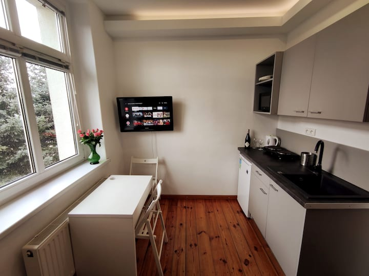 Cosy flat in village close to Wroclaw