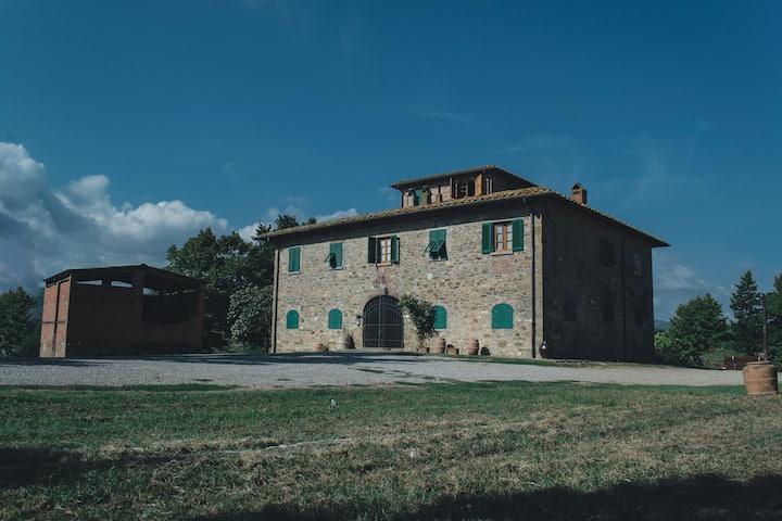 Camera doppia in Agriturismo nel Chianti