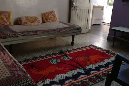 Single Bed A in shared room in 1BHK Home