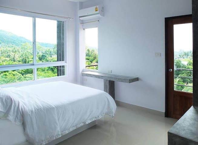 Koh Tao 2 bedroom Sea&Mountain View Modern&Quiet C