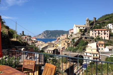 Vernazza: Double Rm, View & Balcony